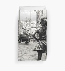 Funda nórdica Fearless Girl & Bull NYC