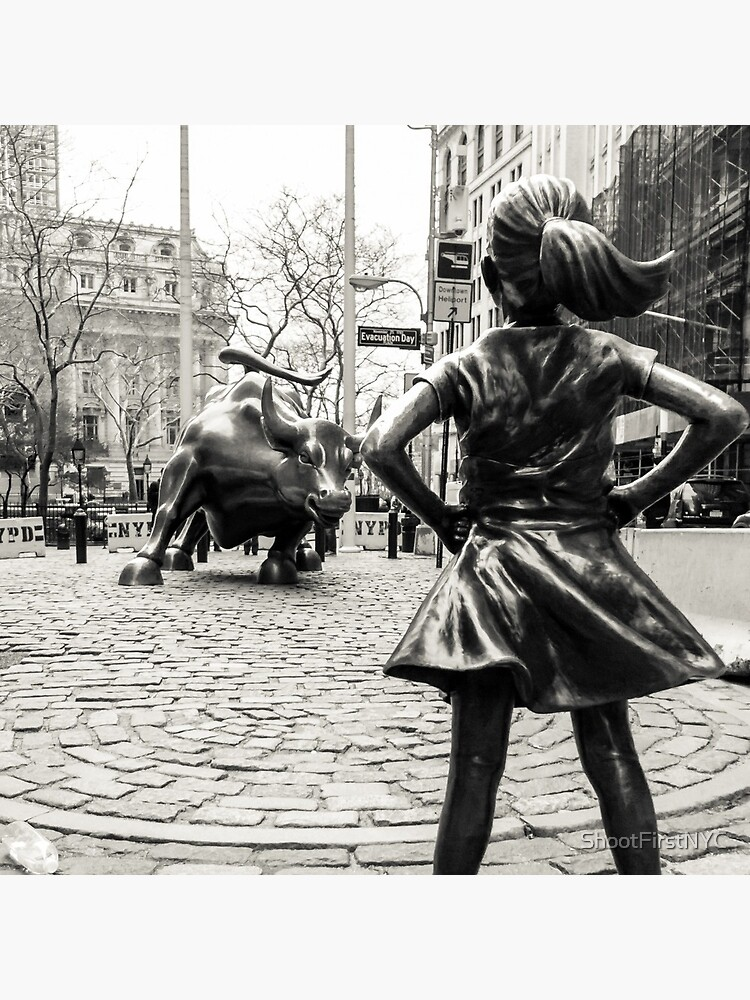 Fearless Girl & Bull NYC by ShootFirstNYC