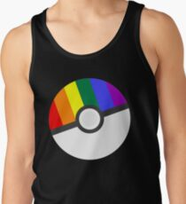 Pokemon 'Prideball' LGBT Pokeball Shirt/Hoodie/etc Men's Tank Top