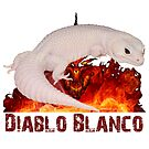 Diablo Blanco Leopard Gecko Design by OnlineGeckos