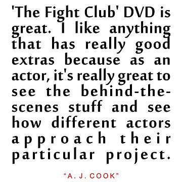 "The fight......""A. J. Cook"" Inspirational Quote by ColorQuote"