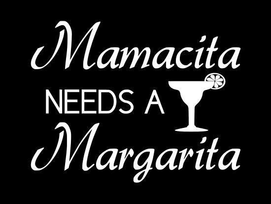 'Mamacita Needs A Margarita' Poster by coolfuntees