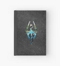 Skyrim Logo - Forest Scene Embossed in Granite Hardcover Journal