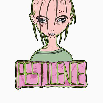Nu-Wave Nu-Rave Horsemen: Pestilence by mikeyfelt