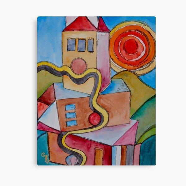 My City Canvas Print