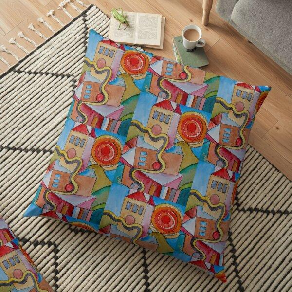 My City Floor Pillow