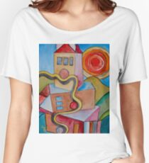 My City Women's Relaxed Fit T-Shirt