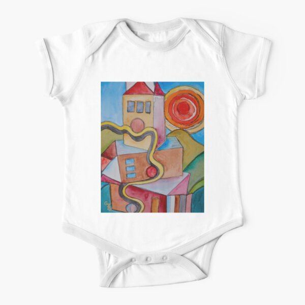 My City Short Sleeve Baby One-Piece