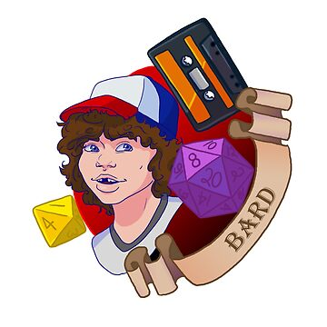 Stranger Things - Dustin Bard by pipie123