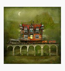 'Railway Station' Photographic Print