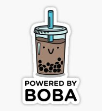 Powered by BOBA Sticker