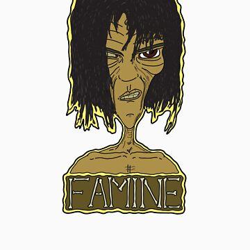 Nu-Wave Nu-Rave Horsemen: Famine by mikeyfelt