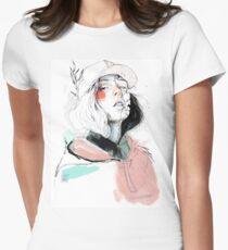COLLABORATION ELENA GARNU / JAVI CODINA Fitted T-Shirt