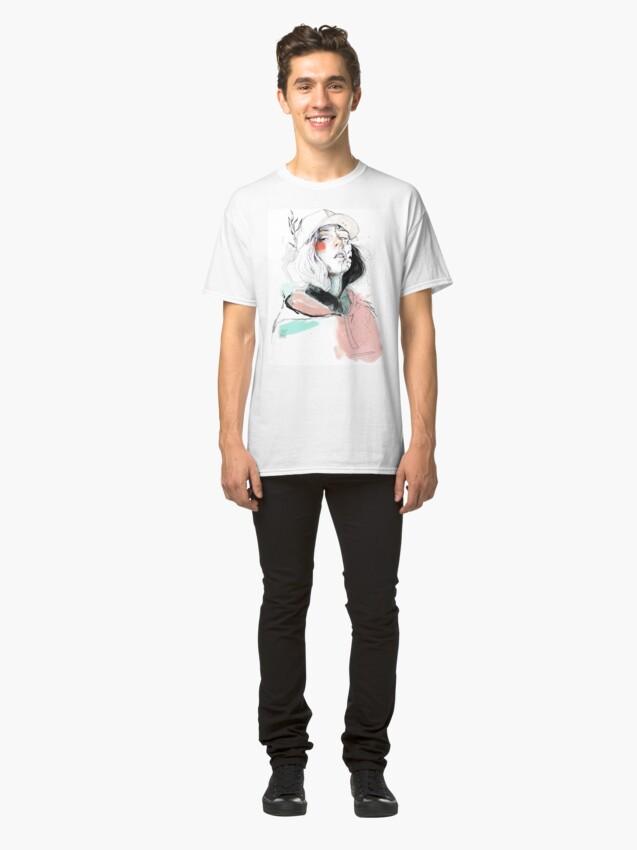 Vista alternativa de Camiseta clásica COLLABORATION ELENA GARNU/JAVI CODINA
