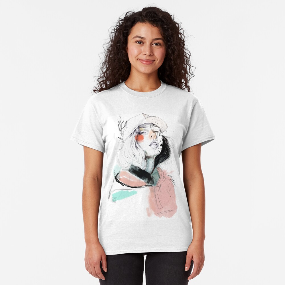 COLLABORATION ELENA GARNU/JAVI CODINA Camiseta clásica