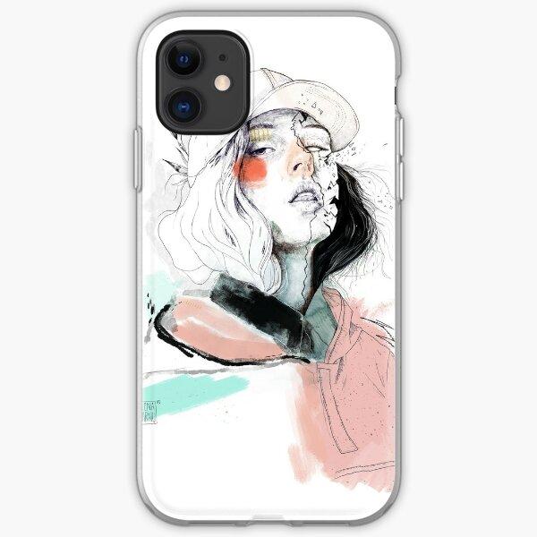 COLLABORATION ELENA GARNU / JAVI CODINA iPhone Soft Case
