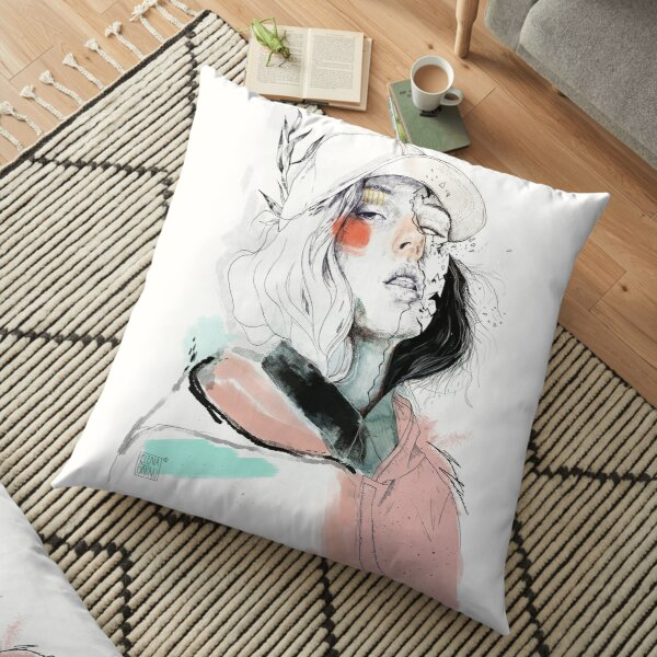 COLLABORATION ELENA GARNU / JAVI CODINA Floor Pillow