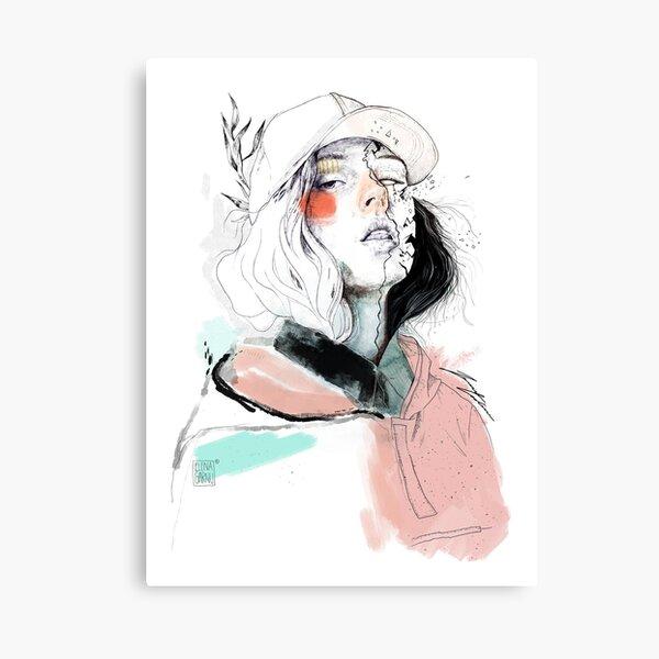 COLLABORATION ELENA GARNU / JAVI CODINA Canvas Print