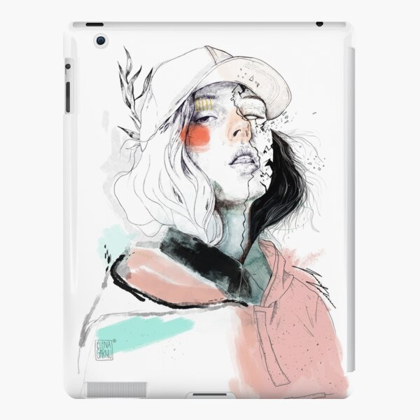 COLLABORATION ELENA GARNU / JAVI CODINA iPad Snap Case
