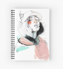 COLLABORATION ELENA GARNU / JAVI CODINA Spiral Notebook