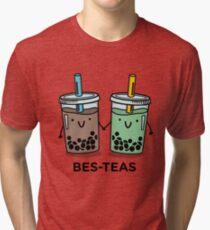 BES-TEAS pun Tri-blend T-Shirt