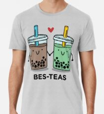 Camiseta premium Juego de palabras BES-TEAS