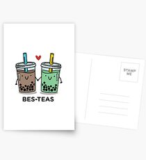 BES-TEAS pun Postcards
