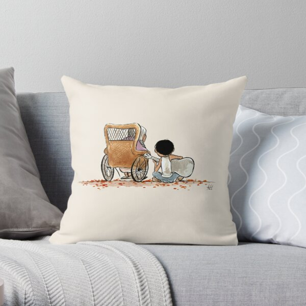 COCO GUITAR Throw Pillow