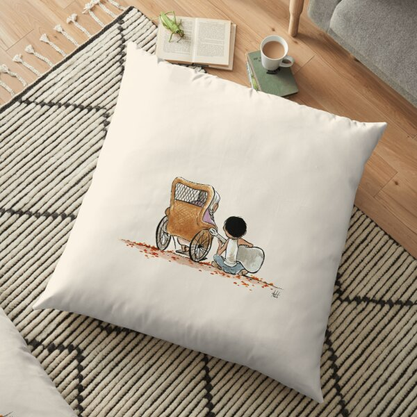 COCO GUITAR Floor Pillow