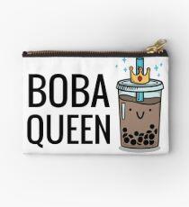 Boba Queen Zipper Pouch