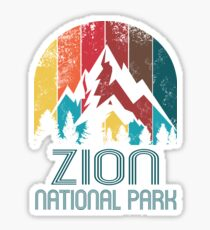 Zion National Park Gift or Souvenir T Shirt Sticker