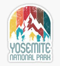 Yosemite National Park Gift or Souvenir T Shirt Sticker