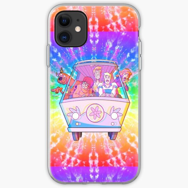 Trippy Scooby Doo iPhone Soft Case