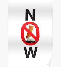Stop smoking now Poster