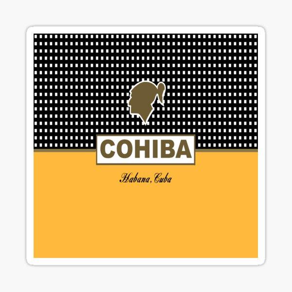 Cohiba habana cuba cigar Sticker