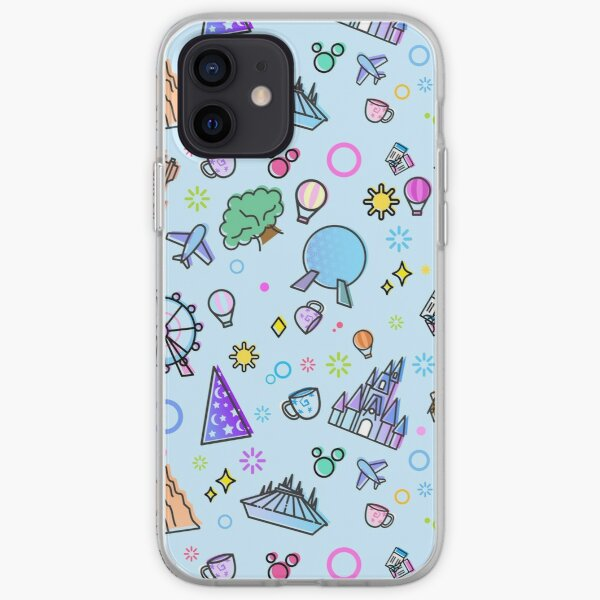 Meet me at my Happy Place Pattern iPhone Soft Case