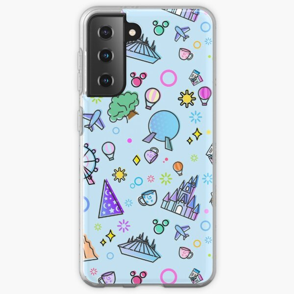 Meet me at my Happy Place Pattern Samsung Galaxy Soft Case