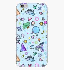 Treffen Sie mich bei meinem Happy Place Pattern iPhone-Hülle & Cover