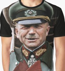 General Heinz Guderian, possibly Russia, c. 1944.  Graphic T-Shirt