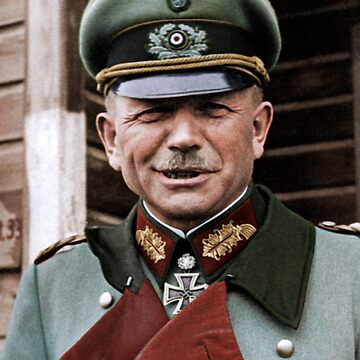 General Heinz Guderian, possibly Russia, c. 1944.  by cassowaryprods