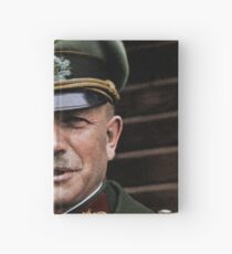 General Heinz Guderian, possibly Russia, c. 1944.  Hardcover Journal