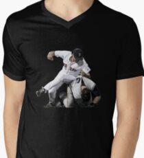 joe kelly fight  Men's V-Neck T-Shirt