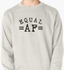 EQUAL AF black Pullover