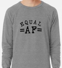 EQUAL AF black Lightweight Sweatshirt