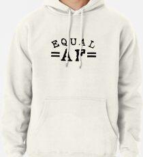EQUAL AF black Pullover Hoodie