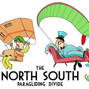 The North South Paragliding Divide by steveham