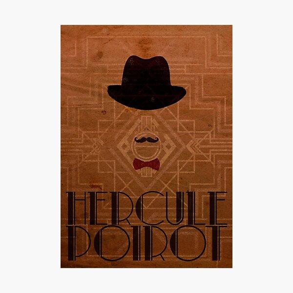 Hercule Poirot Photographic Print