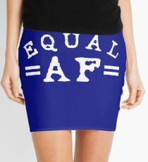 EQUAL AF white Mini Skirt