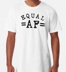 EQUAL AF black Long T-Shirt