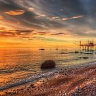 Sunrise at Vasto, Italy by Susan Dost